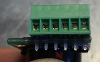 connector on sensor
