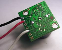 sensor with wires