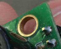 a pcb board before saltwater