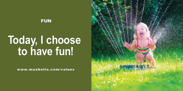 Value Statement: Fun in Summer