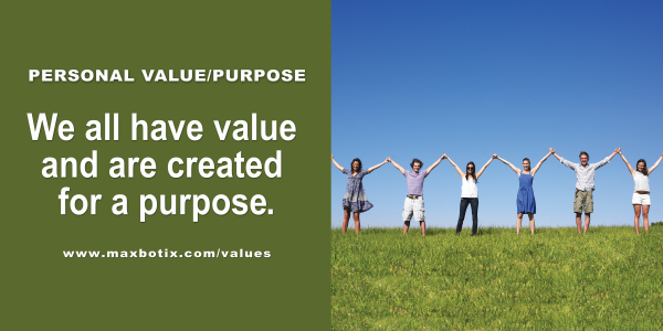 Value Statement: Personal Value Purpose