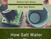 how salt water affects electronics