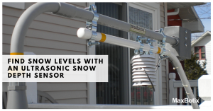 Using an Ultrasonic RangeFinder for Snow Level Measurement