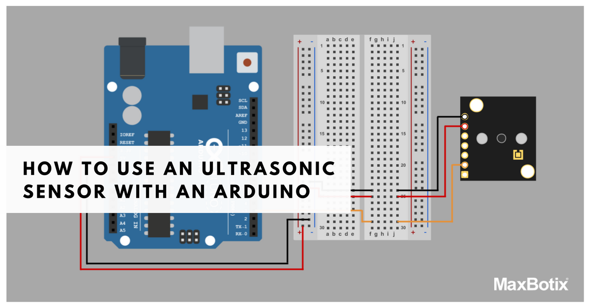 How to Use an Ultrasonic Sensor with Arduino [With Code