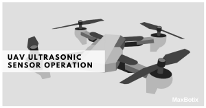 Ultrasonic Sensor Operation on a UAV