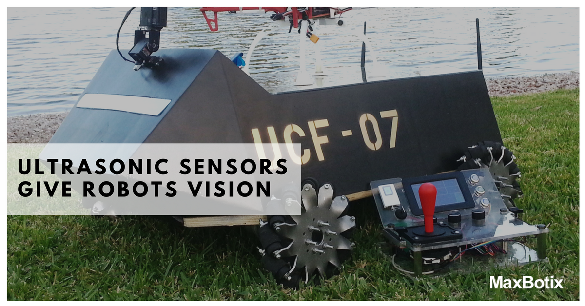 Ultrasonic Sensors Give Robots Vision
