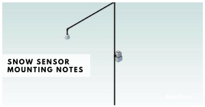 Snow Sensor Mounting Notes
