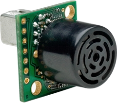 MB1222 indoor ultrasonic sensor for parking garage installations