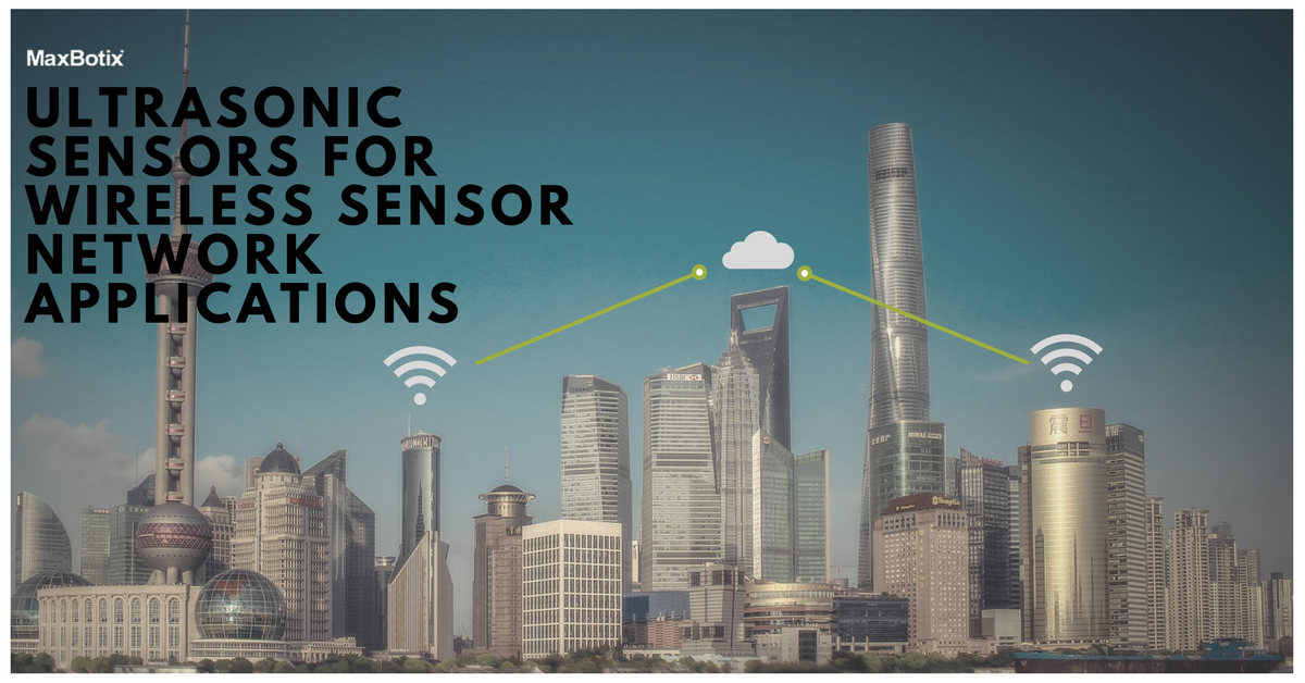 ultrasonic sensors for wireless sensor networks