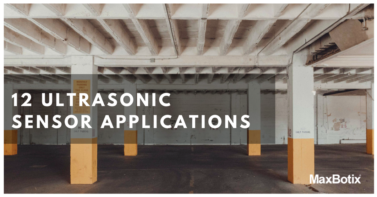 12 Ultrasonic Sensor Applications