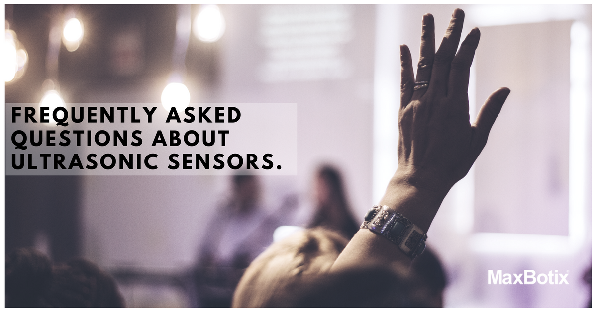 frequently asked questions about ultrasonic sensors