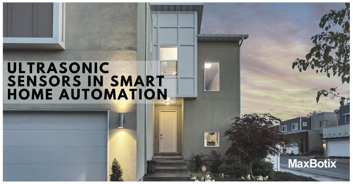 Ultrasonic Sensors in Smart Home Automation