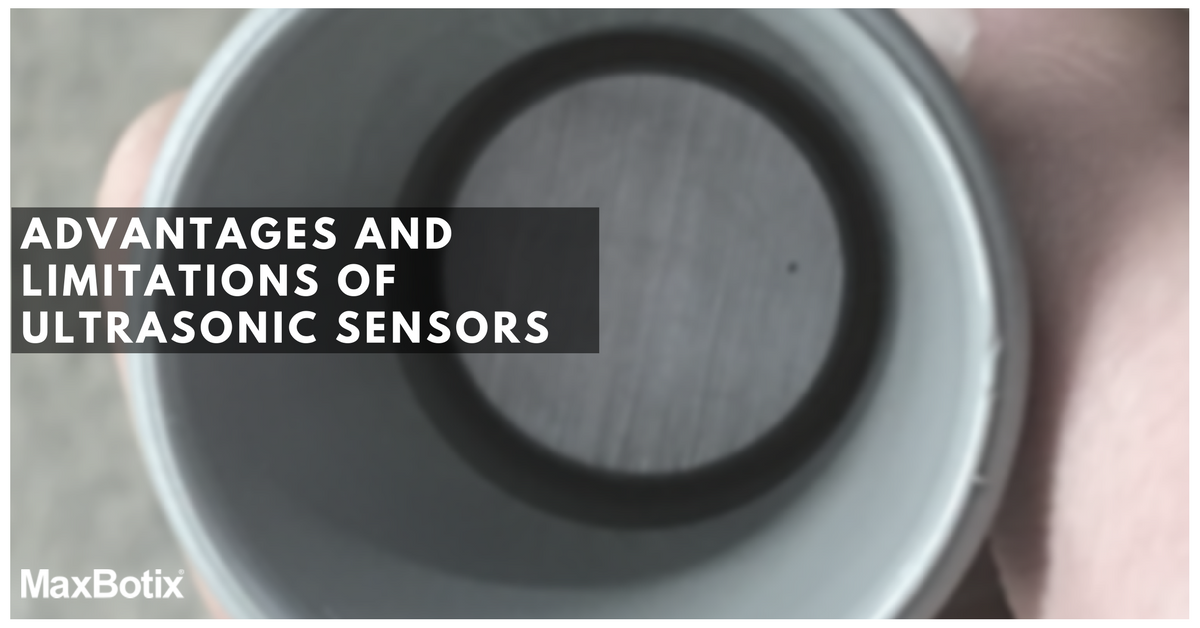 Ultrasonic Sensors: Advantages and Limitations | MaxBotix Inc