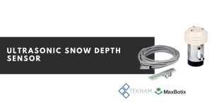 ultrasonic snow depth sensor