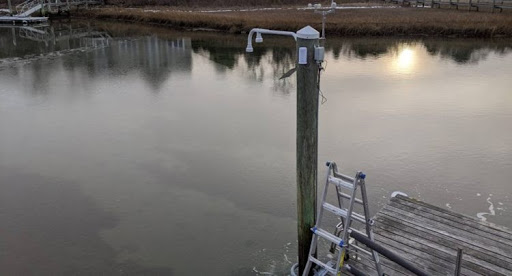tide monitoring with ultrasonic sensors