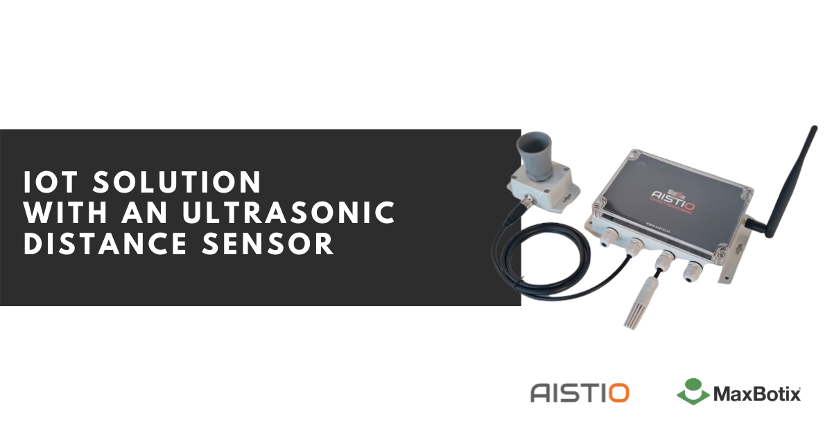 iot ultrasonic distance sensor