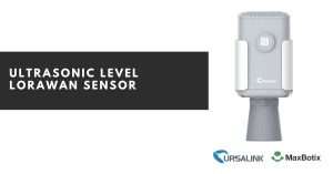 ultrasonic level sensor with lorawan